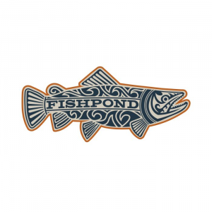 Fishpond Maori Trout Sticker 4618