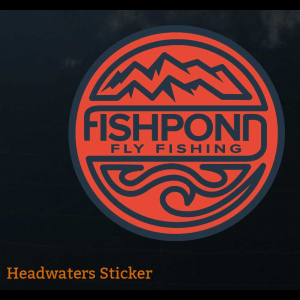 Fishpond Headwaters Sticker 4619