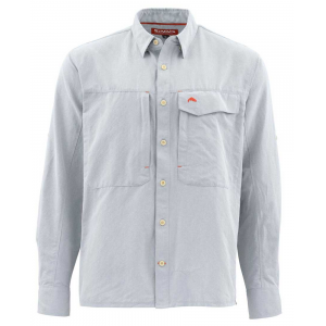Simms Guide LS Shirt - Marl 4633