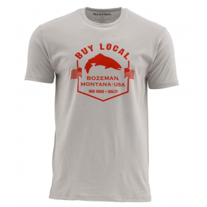 Simms Buy Local Trout SS T 4654