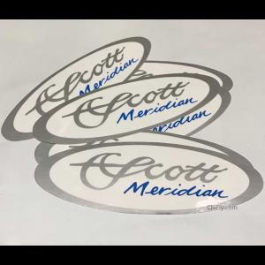 Scott Meridian Oval Decal 4713
