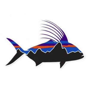 Patagonia Fitz Roy Roosterfish Sticker 4817