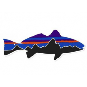 Patagonia Fitz Roy Redfish Sticker 4818