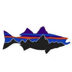 Patagonia Fitz Roy Striper Sticker 4842