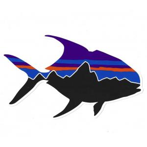 Patagonia Fitz Roy Permit Sticker 4843