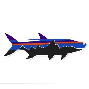 Patagonia Fitz Roy Tarpon Sticker 4844