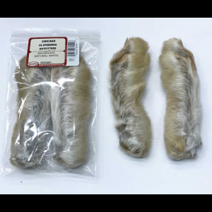 Snowshoe Rabbits Foot 2 Per Pack 4890