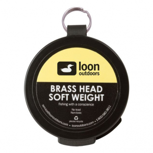 Loon Brass Head Soft Weight 4918