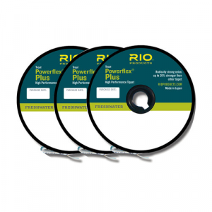 Rio Powerflex Plus Tippet 3-Packs 4933