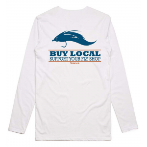 Simms Buy Local Salt LS T-Shirt 4970