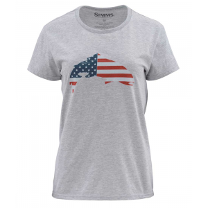 Simms Womens USA Flag Trout SS T 4995