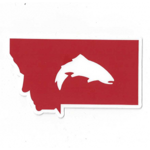 Simms Montana Trout Decal 5143