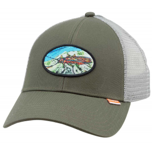 Simms Salmon Fly Patch Trucker 5218