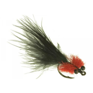 Umpqua Tarpon Toad II Black Red 5270