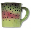 Abstract Stoneware Mugs- Rainbow Trout