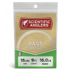Scientific Anglers Bass Leader 2-Pack