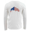Simms Trout USA LS T-Shirt 4962