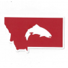 Simms Montana Trout Decal