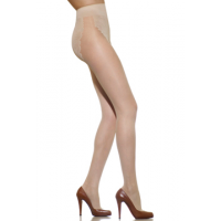 Silkies Ultra Soft Dimensions Lacy Hi Cut Pantyhose