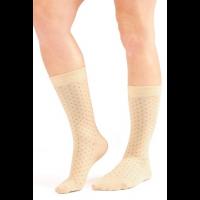 Dash Pattern Crew Socks