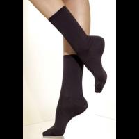 Silkies Matte Finish Microfiber Crew Socks