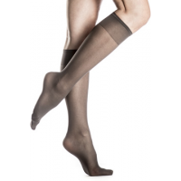 Silkies Sheer ReNu Support Knee Hi's 2 Pair Pack