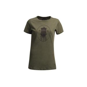 Sierra Designs Women's Emeryville Tower T-Shirt in Olive, Size Large