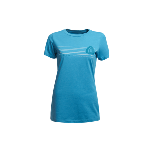 Sierra Designs Women's Horizon T-Shirt in Blue, Size XL
