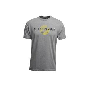 Sierra Designs Men's Sun T-Shirt in Dark Heather Gray, Size Small