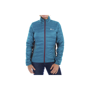 Sierra Designs Women's Tuolumne Sweater - Prior Year Jacket in Teal/Grey, Size Small