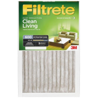 16x20x1 (15.6 x 19.6) Filtrete Dust Reduction 600 Filter by 3M(TM) (2 Pack)