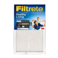20x20x1 (19.7 x 19.7) Filtrete Ultimate Allergen Reduction 1900 Filter by 3M(TM) (2 Pack)