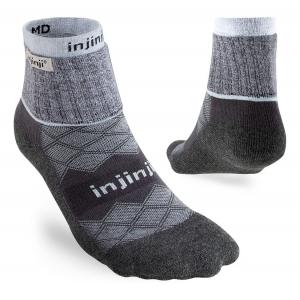 Womens Injinji Liner + Runner Mini-Crew Coolmax Socks