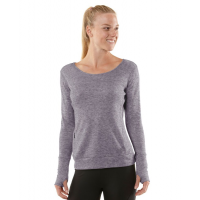 Womens R-Gear Just Blend In Wool Long Sleeve No Zip Technical Tops(XS)