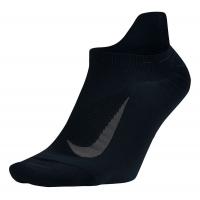 Nike Elite Running Lightweight No Show Tab Socks(M)
