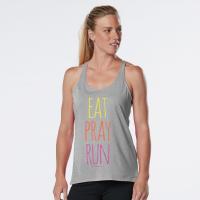 Womens R-Gear Eat, Pray, Run Graphic Sleeveless & Tank Technical Tops(XL)