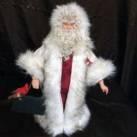 St. Nick's Attic - Lonestar Quilt Santa with Chalkboard