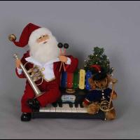 Karen Didion Originals - Lighted Music Santa