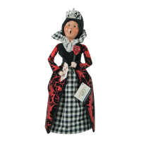 Byers Choice - The Queen of Hearts - Exclusive to the Wooden Duck