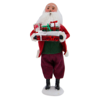 Byers Choice - Bald Santa with Packages