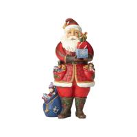 Jim Shore - Santa Holding Presents