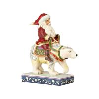 Jim Shore - Santa Riding Polar Bear