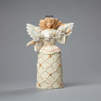 Jim Shore - Coastal Angel with Seashell Wings