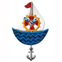 Allen Designs - Ahoy Sailboat Clock