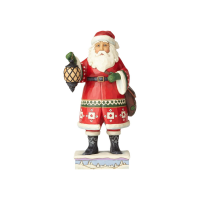 Jim Shore - Santa with Lantern and Satchel