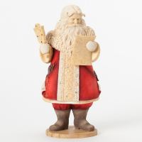 The Heart of Christmas - Mustache Santa with Mirror