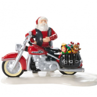 Department 56 - Santa's New Sleigh Is A HarleyA(R)
