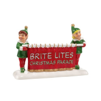 Department 56 - Brite Lites Christmas Parade, Banner