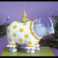 Patience Brewster - Roberta Rhino Figure