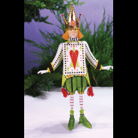 MacKenzie-Childs Patience Brewster - Jack of Hearts Figure